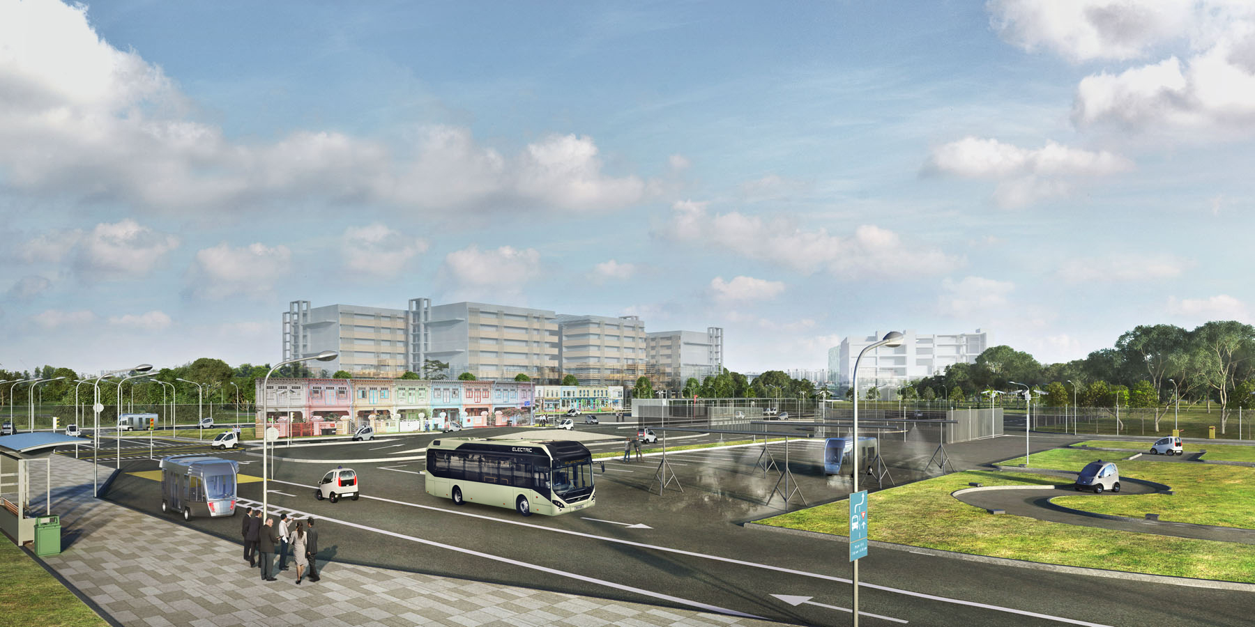 Abb To Energize Singapores Autonomous Electric Bus Project Inverter Charger Circuitjpg